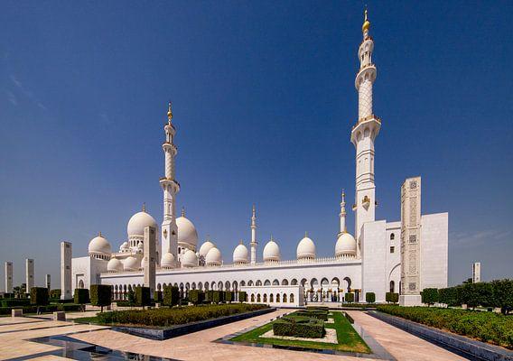 Sheikh Zayed Mosque - Abu Dhabi van Rene Siebring