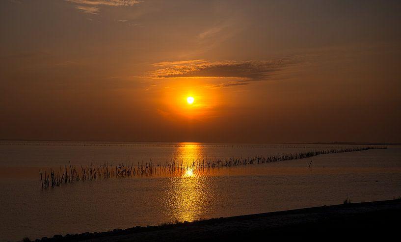 Sonnenuntergang Austerndamm von Aspectus   Design en Realisatie