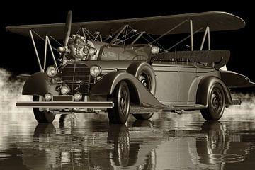 Mercedes 770 K Limousine uit 1938 - Een historische auto van Jan Keteleer