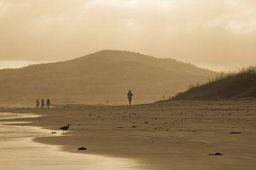 Strand in Ecuador van Jos van Ooij