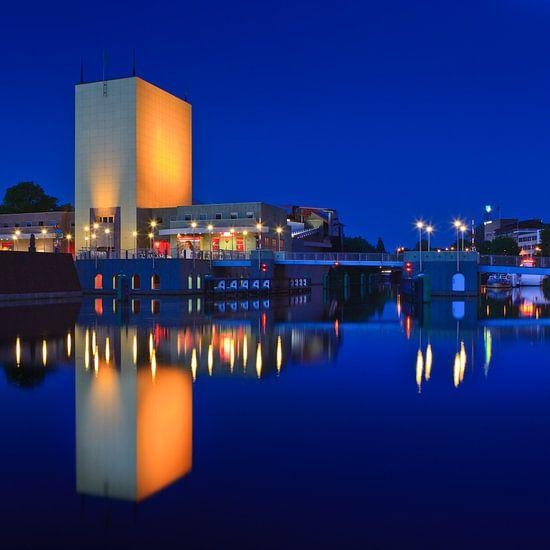 Groninger Museum, Netherlands van Henk Meijer Photography