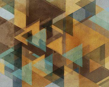 Bon geo abstract van Joost Hogervorst