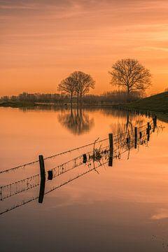 Reflexion im Wasser von Moetwil en van Dijk - Fotografie