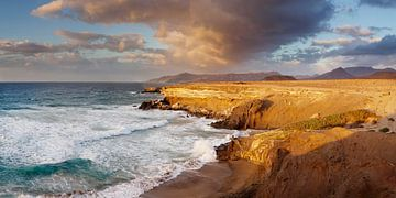 Küste bei Sonnenuntergang, Kanarische Inseln, Spanien von Markus Lange