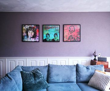 Kundenfoto: Jim Morrison von Rene Ladenius Digital Art