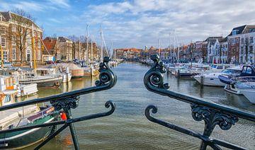 Dordrecht, paysage urbain. Pays-Bas sur Rietje Bulthuis