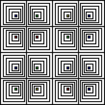 Nested | Offset | 04x04x02 | N=06 | V35 | Random #01 | RGBY van Gerhard Haberern