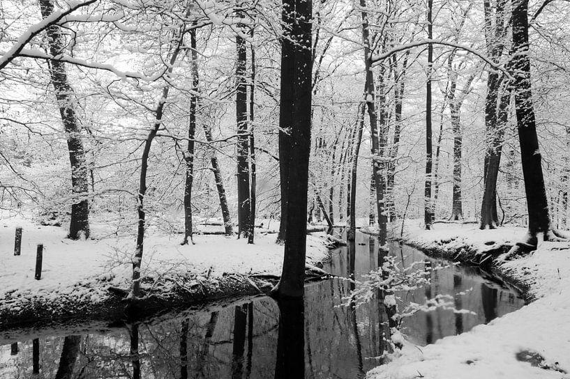 Hierdensebeek in de winter van Felix Sedney