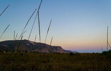 Sonnenaufgang auf Zakynthos von Nathalie Doesburg
