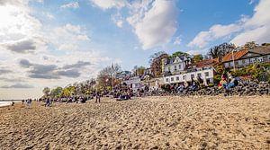 HAMBURG Strandperle 16:9 Panoramabild von Joachim Fischer