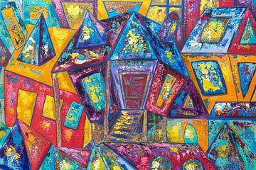 Dorf zu Hause von Christel De Buyser