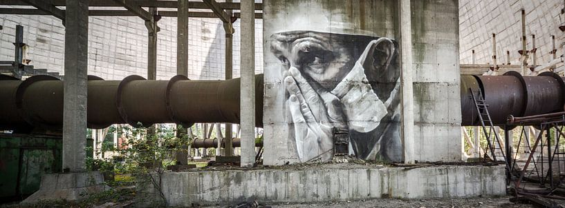 Cooling tower Chernobyl sur Erwin Zwaan