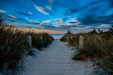Strandpromenade Jasmund - Insel Rügen von Manuél Mendoza