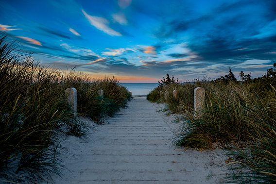 Strandpromenade Jasmund - Insel Rügen van Manuel Mendoza