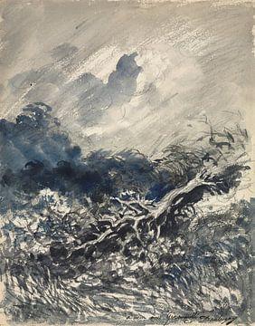 Die Eiche und das Schilf, Charles François Daubigny