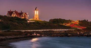 Nobska Light Vuurtoren, Cape Cod, Massachusetts van Henk Meijer Photography