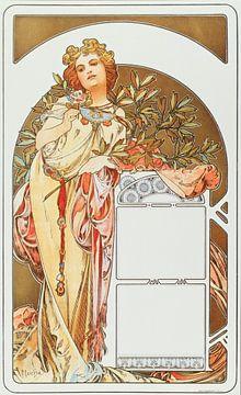 Kalender 1898 - Alphonse Mucha