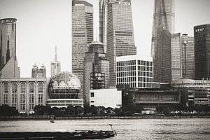 Skyline Shanghai van Erik Juffermans
