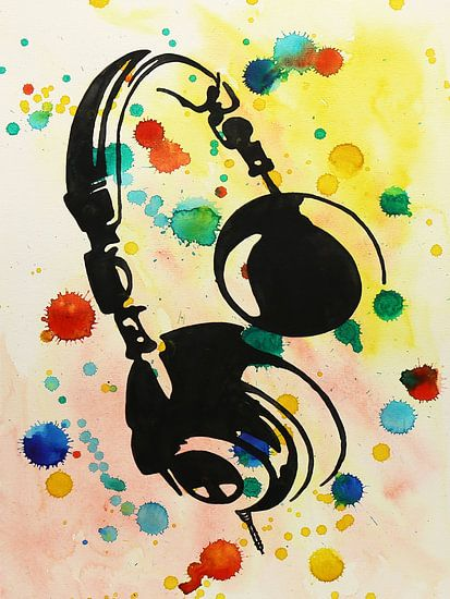 Spetterende hoofdtelefoon van Natalie Bruns