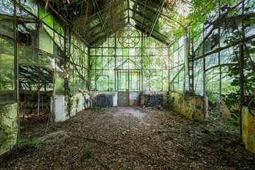 baufälliges Gewächshaus in Italien von Kristof Ven