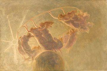Der Tanz der Stunden, Gaetano Previati