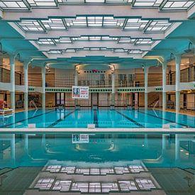Zwembad Van Eyck in Gent van Bruno Hermans