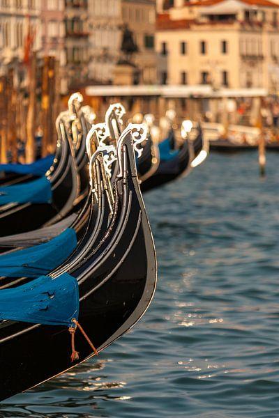 Gondels in Venetië van Easycopters