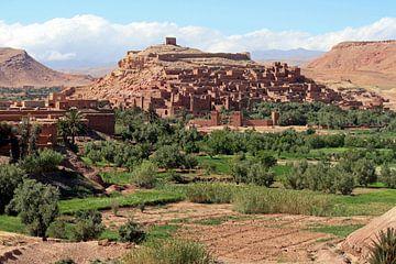 Ait Ben Haddou au Maroc sur Gert-Jan Siesling