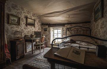 Verlassenes Schlafzimmer von Joren Mus