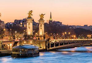 An der Seine von Paris van