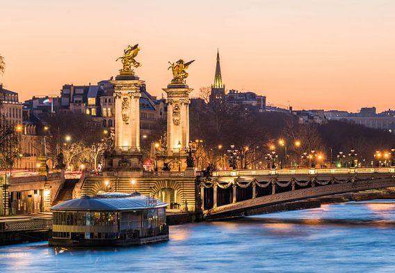 An der Seine von Paris van Hans Altenkirch