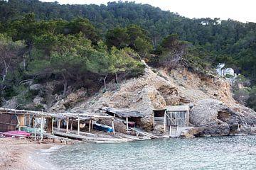 Landschap Ibiza van Sharona Sprong
