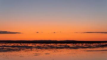 Sonnenaufgang in der Mongolei von Daan Kloeg
