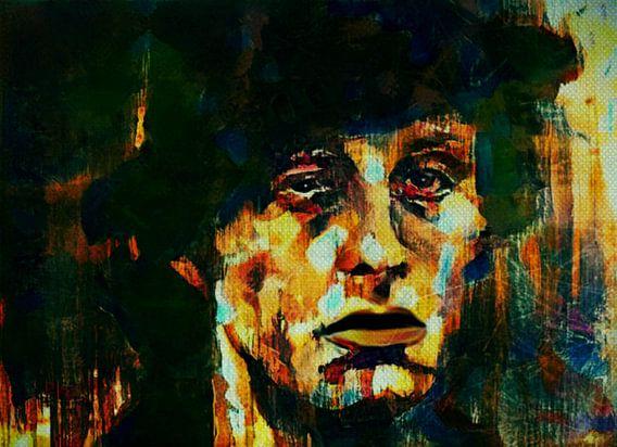 Rocky Balboa Expressive Pop Art