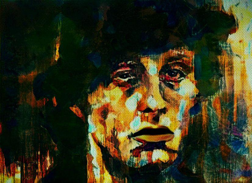 Rocky Balboa Expressive Pop Art van Felix von Altersheim