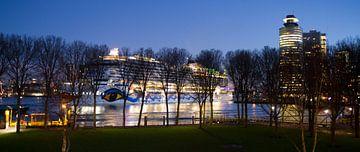 Aankomst Aidaprima in Rotterdam van Rob Altena