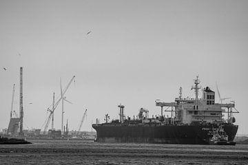 Schiffe im Sturm! von scheepskijkerhavenfotografie