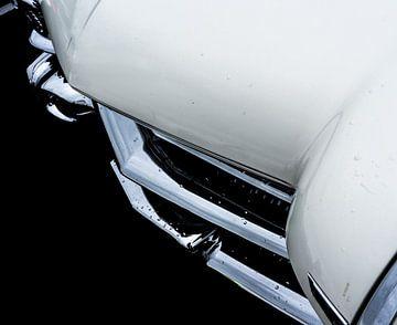 Detail opname van een Amerikaanse klassiek auto