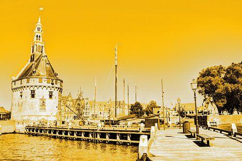 Hoorn Noord-Holland Nederland Haven Goud