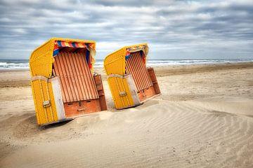 Strandstoelen  van Fotografie Egmond