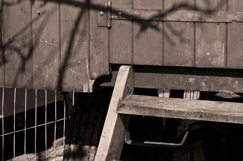 Holztreppe von Agnes Meijer