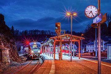 Kreuzungsbahnhof Wolkenstein / Erz von Johnny Flash