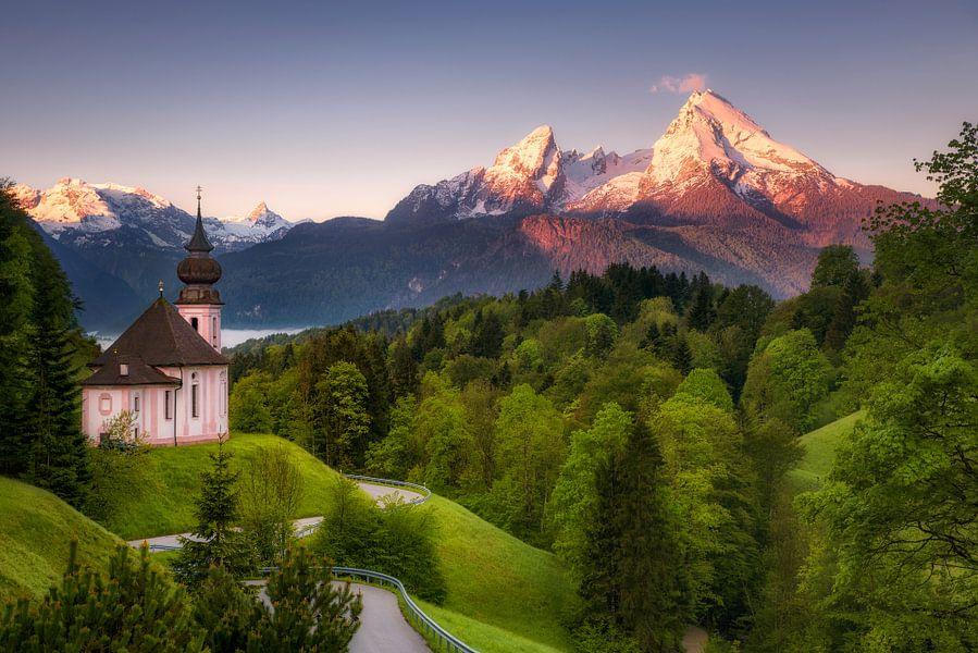 Pilgrimage Church Maria Gern (Bavaria / Germany) van Dirk Wiemer
