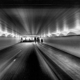 surrealistische blik op viaduct van Rita Phessas