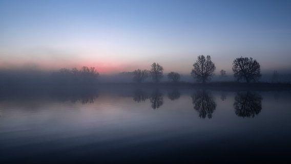 Een mooie zonsopkomst in Meinerswijk natuur park