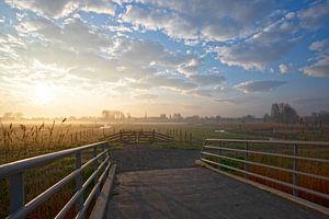 Zonsopkomst Oudorp polder