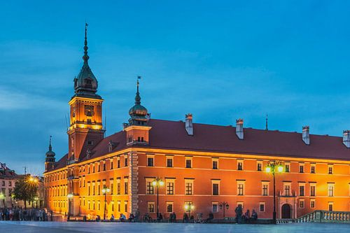 Warschau, Polen von