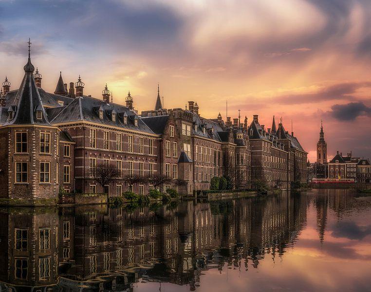Den Haag Hofvijver van Herman van den Berge