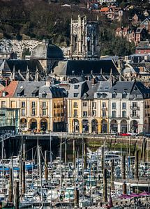 Oude binnenhaven Dieppe