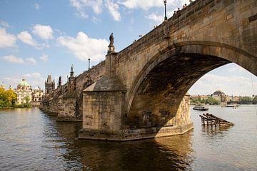 De Karelsbrug over de Moldau van Willemke de Bruin